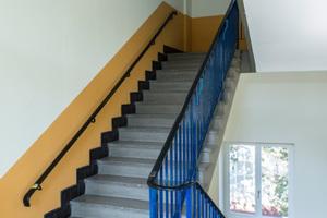 Saniertes Treppenhaus