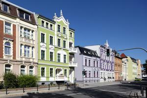 1. Preis Historische Gebäude und Stilfassaden: Gründerzeit-Wohnhaus in Oschersleben, Puschkinstraße