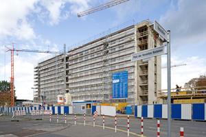 Das alte Abgeordnetenhaus auf dem Bonner UN Campus wurde zum neuen Büro des Klimasekretariats der Vereinten Nationen umgebaut