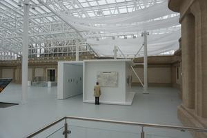 Ausstellungskubus im Museum für zeitgenössische Kunst