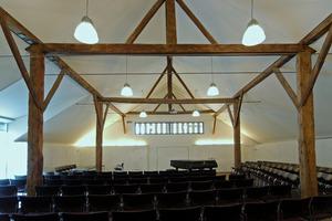 Der heute als Konzertsaal genutzt Sadel<br />