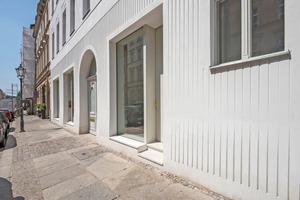 Mit dem Sanierputz- und Dämmsystem waren bis zu 2cm tiefe Prägungen in der Fassade möglich⇥Foto: Haga