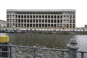 Die neue Ostfassade war im Wettbewerb als einzige der vier Flügelseiten zeitgenössisch zu gestalten