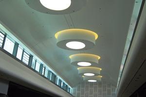 Die 14  aufeinander folgenden identischen Zylinder haben einen Durchmesser von 5,60 m