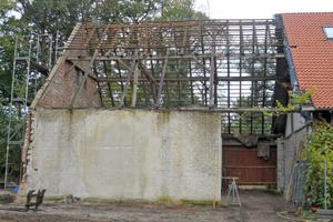 Was Architekt Thomas Spooren 2012 in Augenschein nahm, war keine Remise mehr, sondern eine Ruine