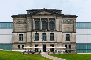 Das Berliner Büro Hufnagel Pütz Rafaelian Architekten erweiterte die ursprünglich aus der Mitte des 19. Jahrhunderts stammende Bremer Kunsthalle symmetrisch mit zwei Baukörpern<br />Fotos: Stefan Müller<br />