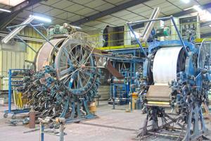 Große Leimdruckmaschinen