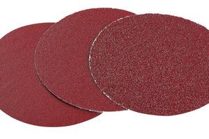 Klettschleifscheiben zum Schleifen von Farbe, Holz und Kunststoff<br />